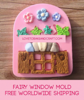 Window mold, fairy house, fairy mold, window mould, fairy silicone mold, fairy house, fairy jar, polymer fairy, fairy mould.free worldwide shipping